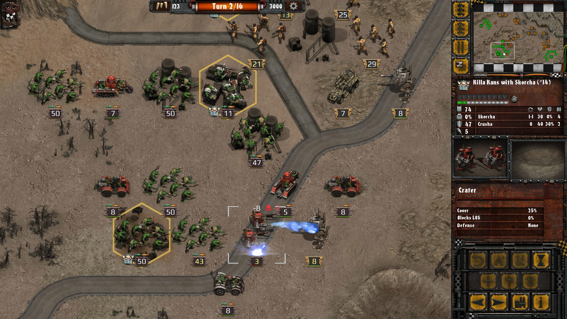 Warhammer 40,000: Armageddon: Da Orks (2016) PC - Скриншот 1