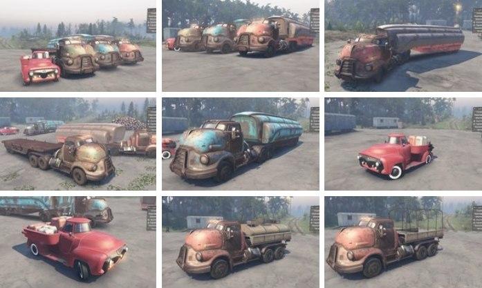 Машины из Fallout 4 для 03.03.16 для Spintires - Скриншот 1