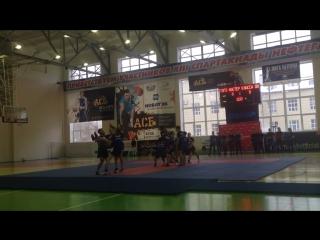 Открытый урок по спортивному черлидингу в ТИУ!