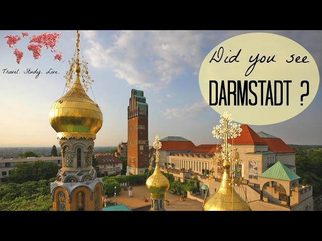 Trip to DARMSTADT 🇩🇪 | Germany TRAVEL VLOG Russian Orthodox Church in Germany (ENG SUBS)