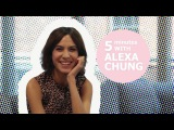 Alexa Chung talks about her girl crush &amp the wardrobe she would like to raid!