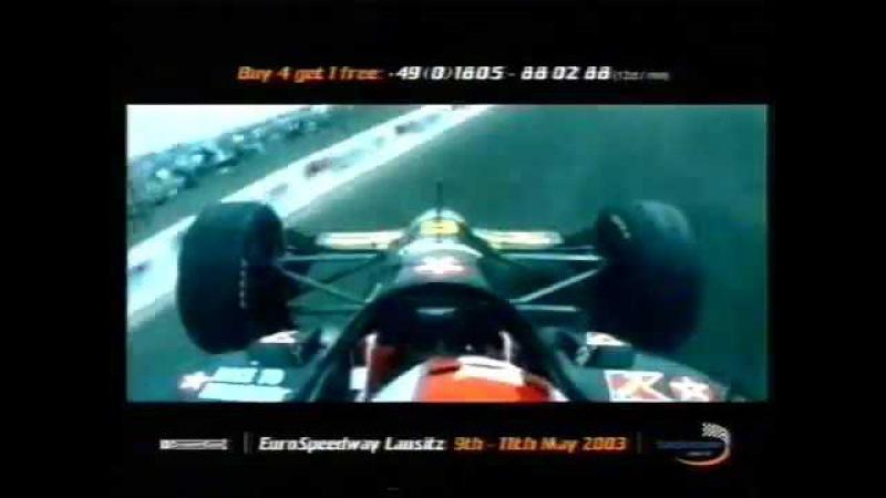 [VHSRip] Ad of ChampCar race German 500 '2003 (Eurosport)