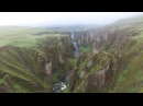 Drone POV Soaring Over Iceland's Rugged Landscape Short Film Showcase