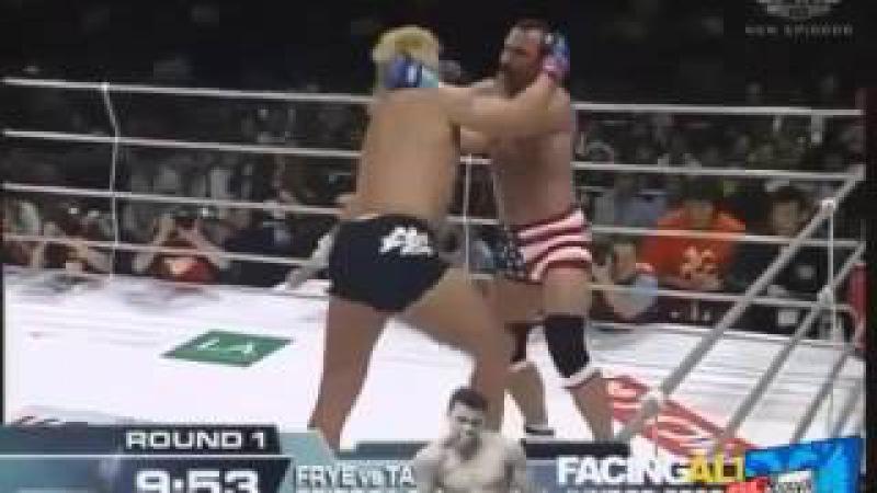 Самый жесткий бой, который я когда-либо видел: Дон Фрай против Йошихиро Такаяма