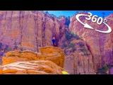 360 ЗАЙОН парк Каньон Оверлук (Canyon Overlook) Юта США  ПЕРВАЯ В МИРЕ кругосветка 360 ВЛОГ