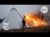 A Standing Rock Camp Is Burned  The Daily 360  The New York Times