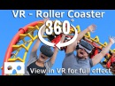 VR Roller Coaster - Experience the excitement of a Virtual Reality 360 ride in a VR Theme Park