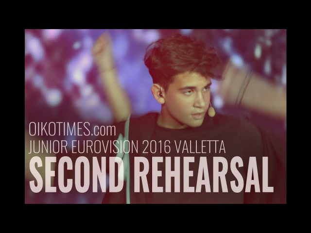 Oikotimes.com: Cyprus Second Rehearsal at Junior Eurovision 2016