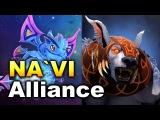NAVI vs Alliance - EL Clasico + LVL 1 Rosh! - TI6 Dota 2