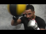 ANDRE WARD GOES NON-STOP H.A.M. ON THE DOUBLE-END BAG INTENSE FOCUS AHEAD OF KOVALEV CLASH