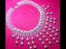 Красивое колье с подвесками из бисера /Бисероплетение/Necklace with pendants from beads /Beading
