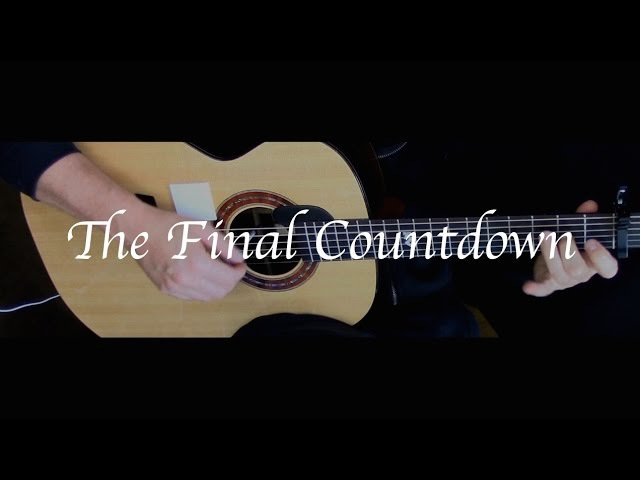 Europe - The Final Countdown - Fingerstyle Guitar