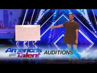 Tom London: Magician Mystifies Crowd With Tech Magic - America's Got Talent 2017