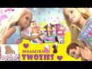 Мультики Барби. Пупсики Twozies c Тележкой для Мороженого Two-Cool Ice-Cream Cart Играем в Куклы