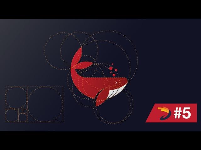 Adobe Illustrator Tutorial   Whale Logo Design with Golden Ratio