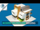 MODEL MAKING OF MODERN ARCHITECTURAL BUILDING 9