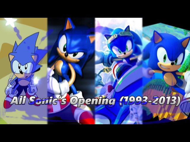 [UPDATE] All Sonic Games Opening - 1993-2013