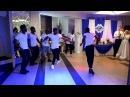 Angolan men's band at the wedding party Kabetula