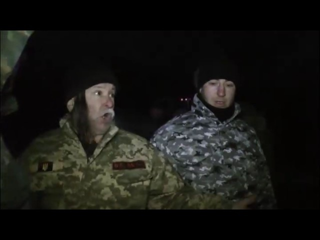 Літній козак з Бахмуту дав ляпаса генералу поліції Аброськіну
