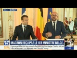 Discours de Macron qui est re