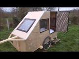Caravane pour velo fait maison