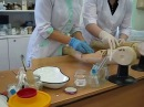 Отработка внутривенной инъекции 105 гр. Нижневартовский мед. колледж