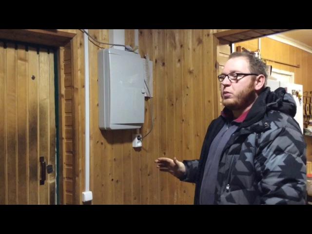 Электромонтаж в деревянном Доме часть 2