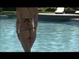 Hawaii Blue Mini Micro G-string Bikini