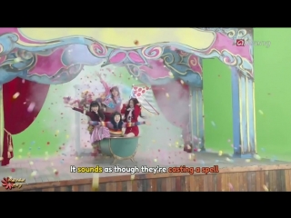170207 Red Velvet - Rookie MV Making from Pops in Seoul