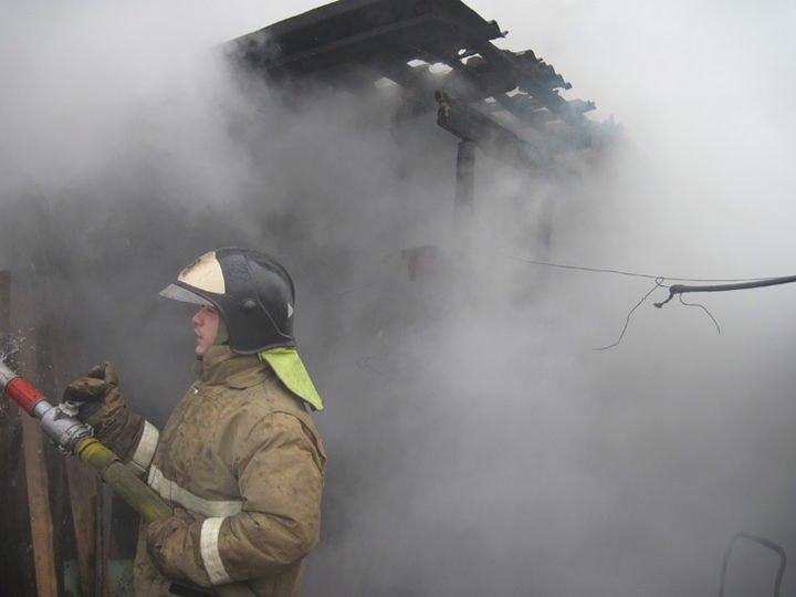 Три единицы техники участвовали в тушении пожара в Раздольном сегодня, 21 апреля