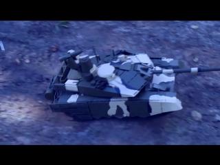 Радиоуправляемая, самодельная модель танка Т-90МС _ RC, homemade model of T-90MS