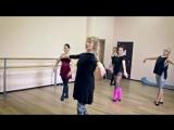 Занятия по направлению Body Ballet в студии Dita-Dance