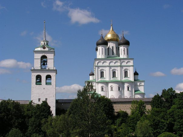 Троицкий собор в Пскове