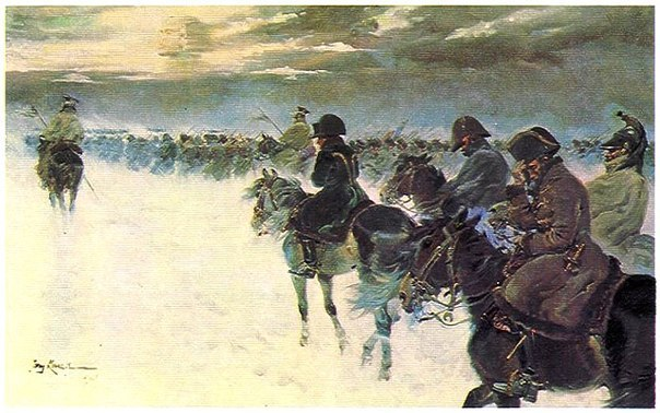 Что или кто погубил армию Наполеона в