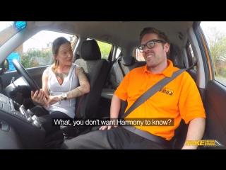 Fake Driving School Chantelle Fox Advanced Lesson in Messy Creampie New Porn 2017
