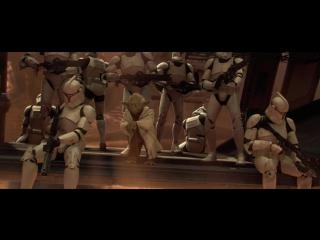 Звездные Войны: Эпизод 2 - Атака Клонов | Star Wars: Episode II - Attack of the Clones (2002) Прибытие Армии Клонов