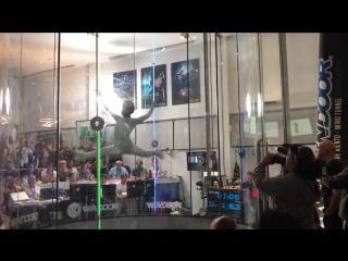 Воздушный танец Маи Кучинской