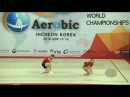Russia 1 RUS 2016 Aerobic Worlds, Incheon KOR Qualifications Mixed Pair