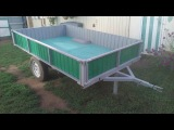 Homemade trailer for mini tractors. Part 1