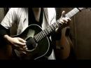 Kagamine Rin - Tokyo Teddy Bear on guitar by Osamuraisan 「東京テディベア」
