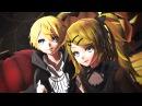 MMDxMME Club Nightmare Tda Vampire Len Dark Lolita Rin