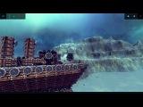 Besiege (Осада 2015) - Морской бой. Броненосец