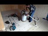 Циклон своими руками собирает стружку, пыль, золу, цемент итд.
