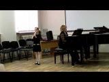 Аве Мария (Ave Maria) - Джулио Каччини (Giulio Caccini) - Шишкова Кира
