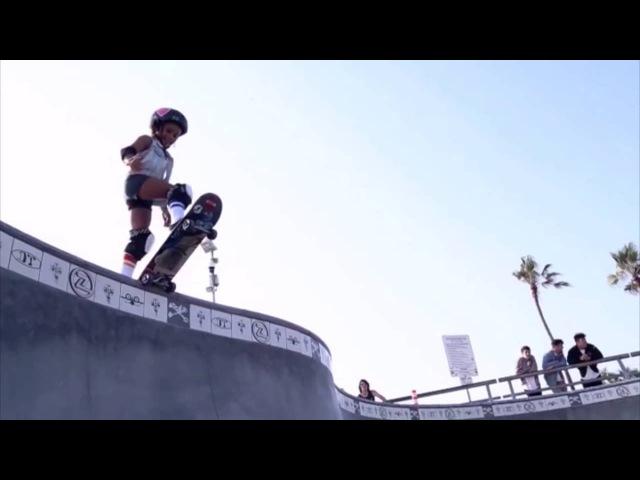 Скай Браун - Самая юная профессиональная скейтерша из Японии