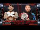 WWE 2K17   CM Punk vs Jeff Hardy   WVW Television Championship