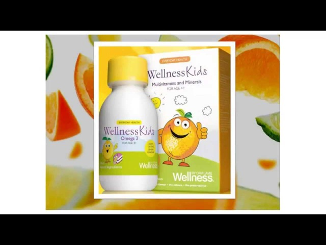 Детские витамины от Wellnes by Oriflame. Педиатр Института питания РАМН Наталья Таран