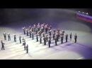 Дефиле сводного оркестра ВКА им. Можайского, МВАА и ВИФК.