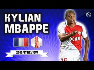 KYLIAN MBAPPE | Goals, Skills, Assists | Monaco | 2016/2017 (HD)