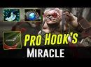 Miracle Pudge PRO HOOKS Dota 2